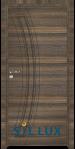 Интериорна врата Sil Lux 3012P Райски орех