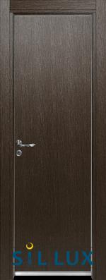 Алуминиева врата за баня Sil Lux, цвят Златен дъб