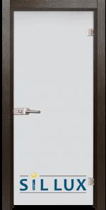 Стъклена интериорна врата Matt G 11 K