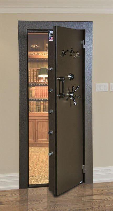Сигурна блиндирана врата за трезор